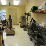 The fabrication room